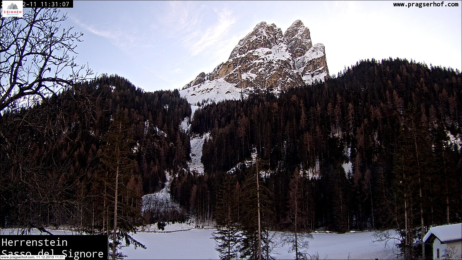webcam neve Braies
