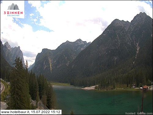 Webcam - Lago di Dobbiaco