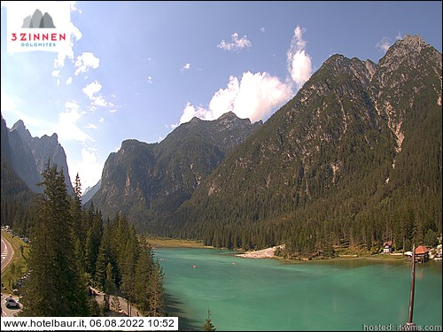 Webcam del Lago di Dobbiaco