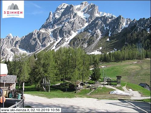 Croda Rossa in Sesto (Mountain station)