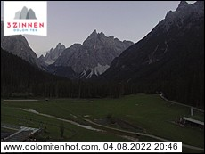 Sesto - view towards Fiscalina valley