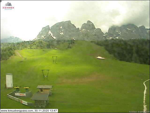Webcam <br><span> tre cime dolomiti</span>