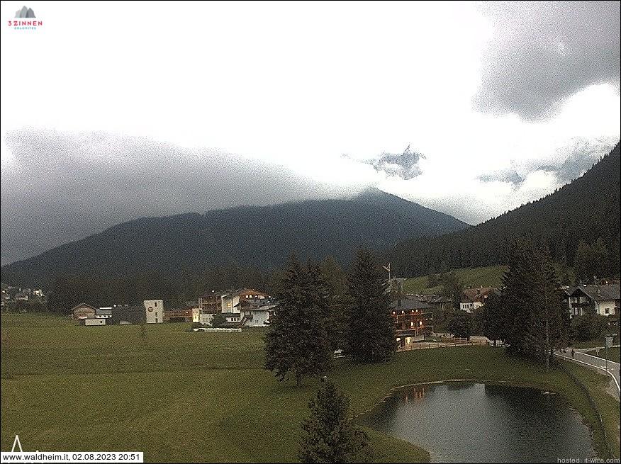 webcam Sesto in Pusteria altezza 1300 m slm