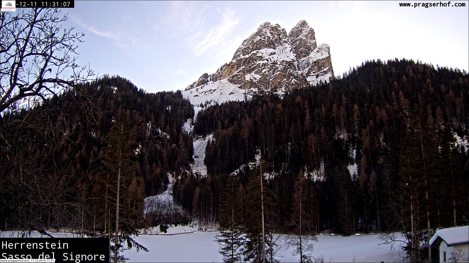 webcam valle di Braies prags