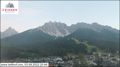 View towards San Candido