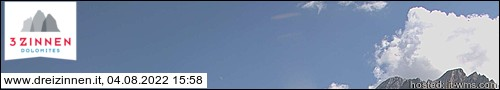 Webcam Tre Cime Dolomiti