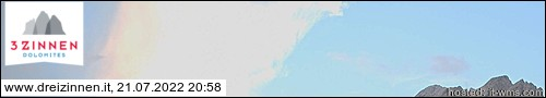 Webcam Drei Zinnen Dolomites