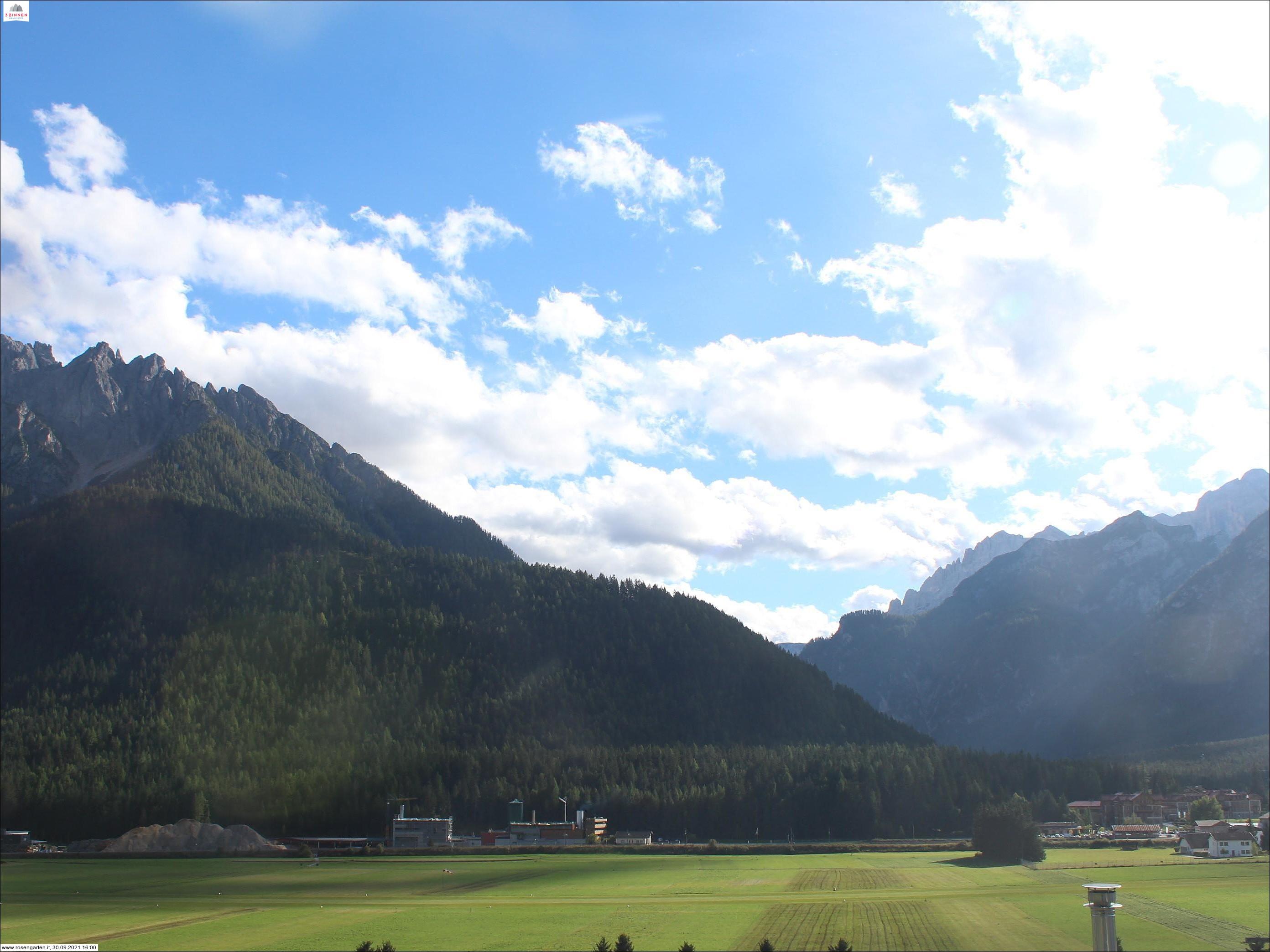 View of the Val di Landro/Höhlensteintal - Hotel Rosengarten